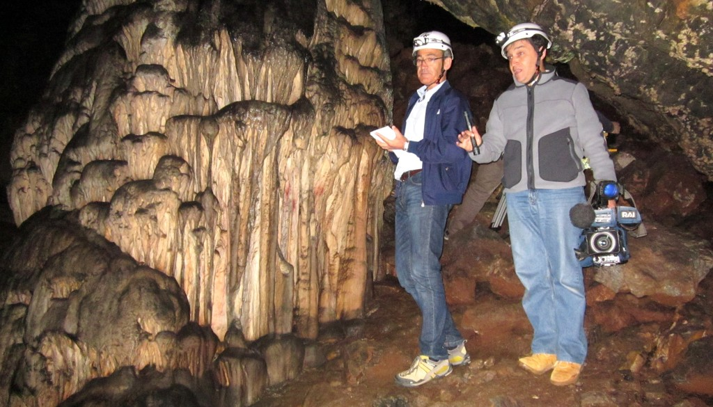 Grotta di Ardales, La missione 2015 RAI – CeSMAP in Spagna